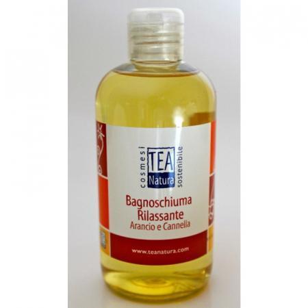 Bagnoschiuma Rilassante Arancio e Cannella per detergere la pelle