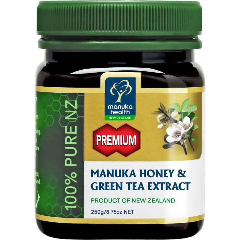 Miele di Manuka MGO 250+ con estratto di Tè Verde