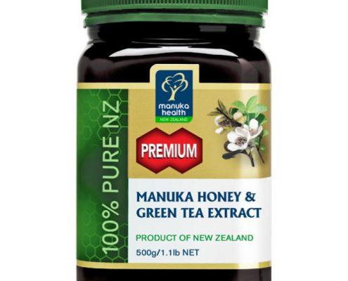 Estratto di Tè Verde e Miele di Manuka - Confezione 500 gr