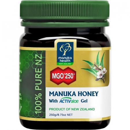 Miele di Manuka MGO 250+ e ActivAloe gel per l'apparato digerente
