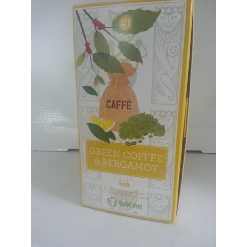 Tisana Caffè Verde originario del Sud America e Bergamotto