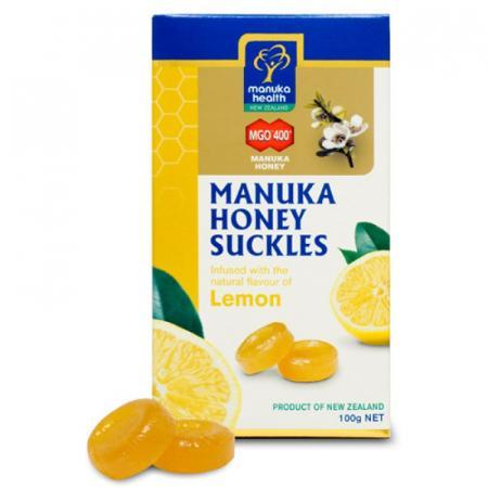 Caramelle con Miele di Manuka e Limone, da 100 gr
