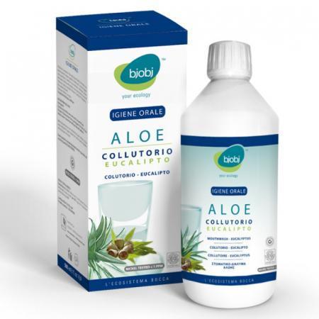 Colluttorio Aloe Vera e Eucalipto, proteggere le gengive ed il cavo orale