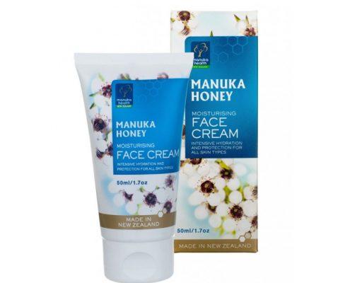 Crema Viso con miele di Manuka MGO™250+ ed olio di Mandorle Dolci