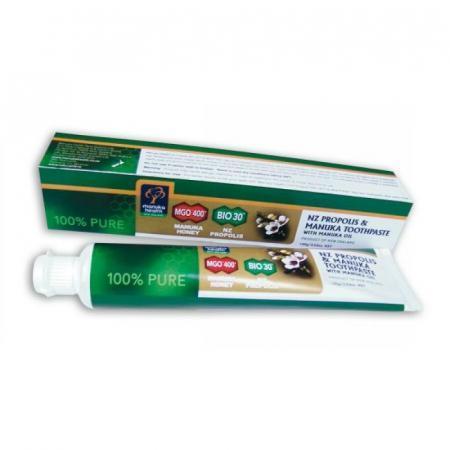 dentifricio con miele di Manuka e Propoli