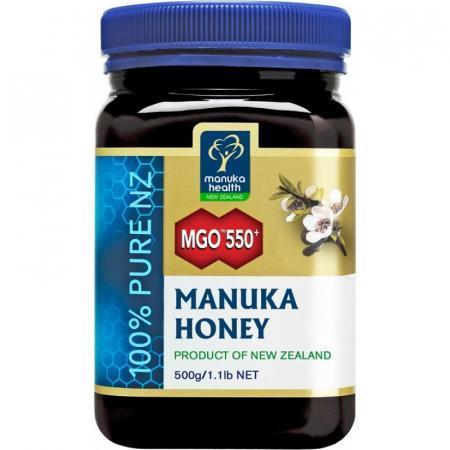 Miele di Manuka MGO 550+ confezione/baratolo da 500 gr