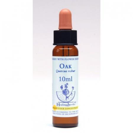 Oak Gocce Fiori di Bach Confezione da 10 ml con contagocce