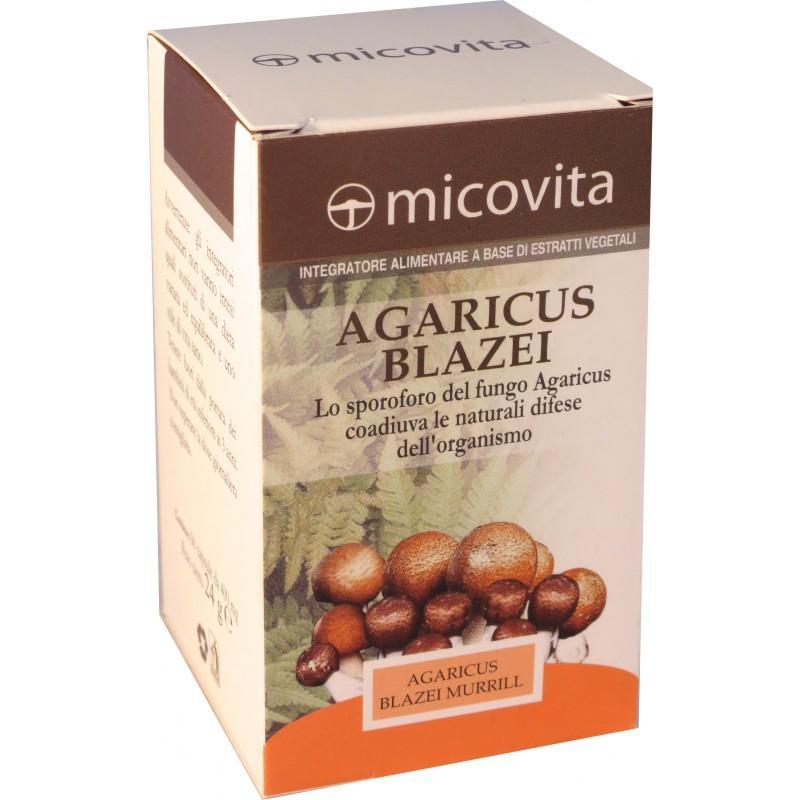 agaricus fungo medicinale compresse
