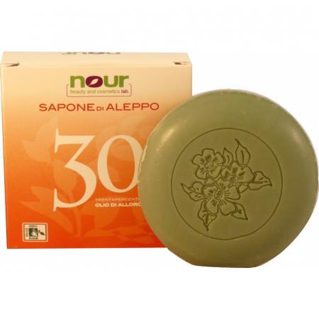 Saponetta di Aleppo 30% olio di Alloro Biologica da 200 gr.