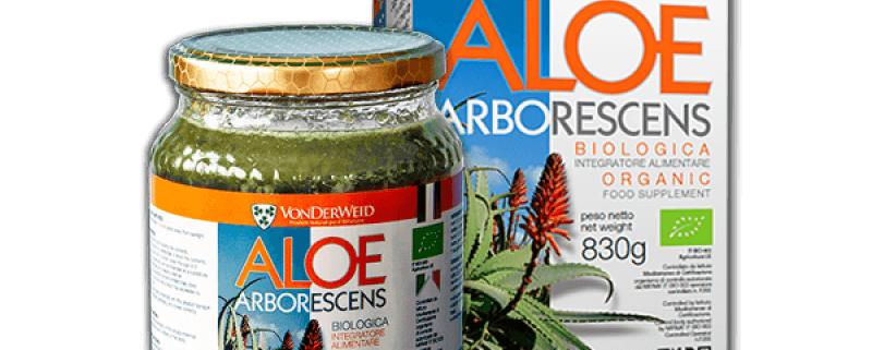 Preparato di Aloe Arborescens Biologica 100% naturale