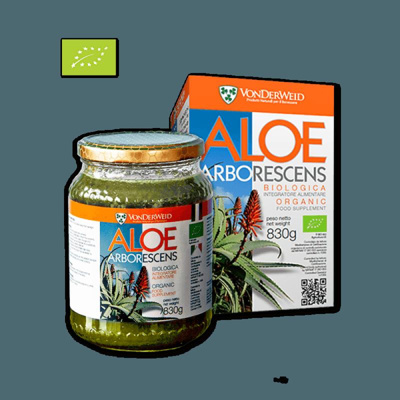 Preparato di Aloe Arborescens Biologica 100% naturale