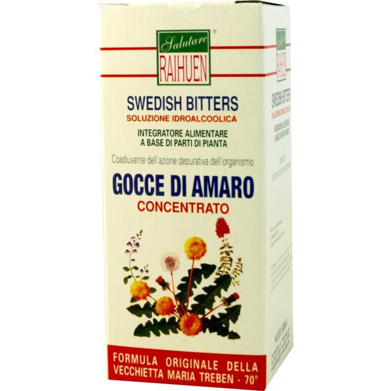 Amaro svedese concentrato in gocce, ricetta originale di Maria Treben