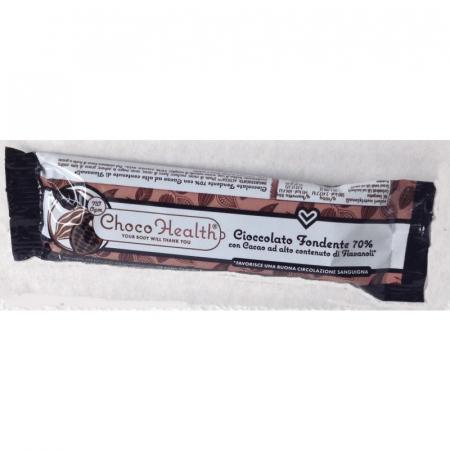 Choco Health - Cioccolato Fondente 70% ad alto valore di Flavanoli