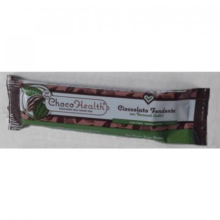 Choco Health cioccolato fondente con cacao e Fermenti