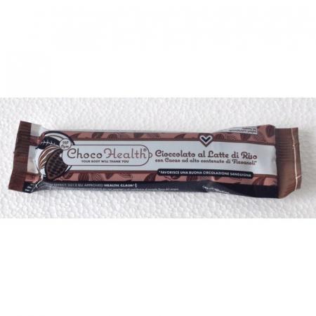 Choco Health, barretta di cioccolato al latte di riso ad alto valore di Flavanoli