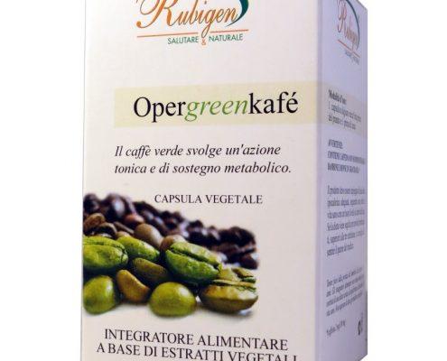 Caffè Verde Opercoli è un integratore alimentare a base di estratti vegetali