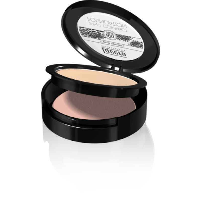 Cipria e Fondotinta 2 in1 Ivory Lavera per Make-up