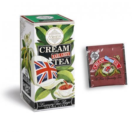 Cream Earl Grey più classico degli aromatizzati tè di Ceylon