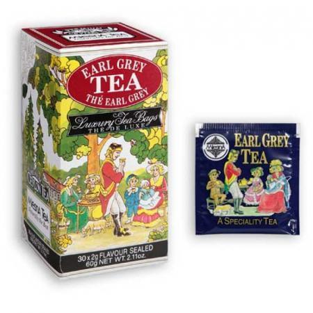 Earl Grey The di Ceylon fresco; il più classico degli aromatizzati