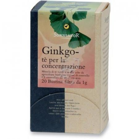 Gingko Tè per la Concentrazione in scatola da 20 bustine filtro