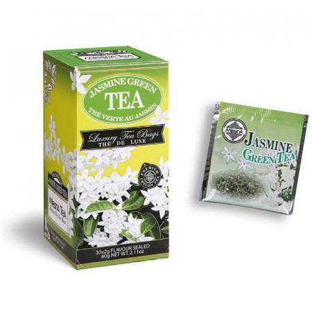 Jasmine Green Tea, benefico tè verde con essenze naturali di gelsomino