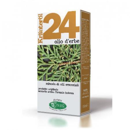 Olio 24 con erbe composto con24 olii essenziali ricavati da piante