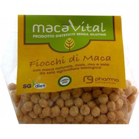 I Fiocchi di Maca sono fonte di fibre e a basso contenuto di grassi