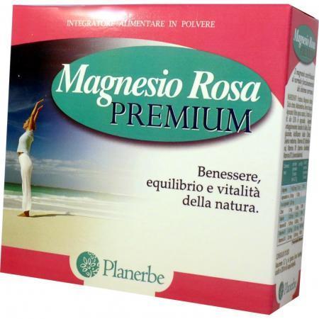Magnesio Rosa Premium Integratore alimentare in polvere