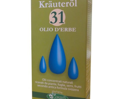 Olio 31 Krauterol è composto con 31 oli essenziali naturali