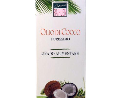 olio di cocco raihuen purissimo