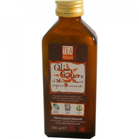 Olio Solare al Monoi Tiarè, olio di Cocco puro confezione 100 ml