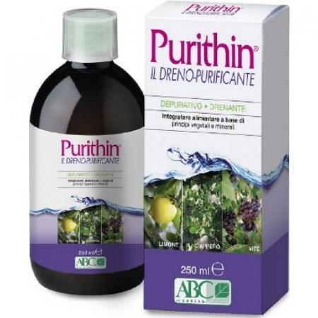 Purithin dreno purificante, integratore alimentare depurativo e drenante
