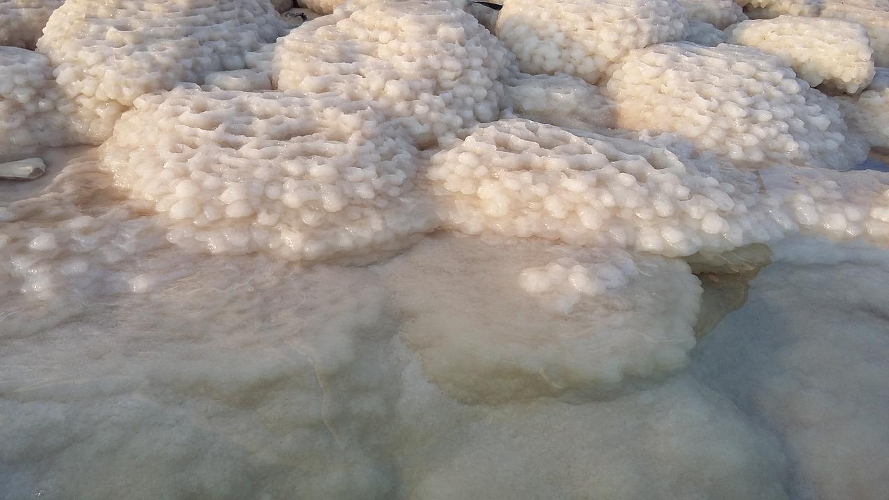 sale e fango del mar morto