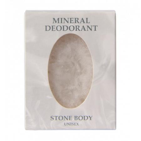 Cristallo Deodorante di Allume di Potassio forma ovale da 155 gr.