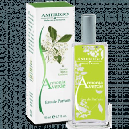 Eau de Parfum Primaverile mix verde dalle note fresche e vitali.