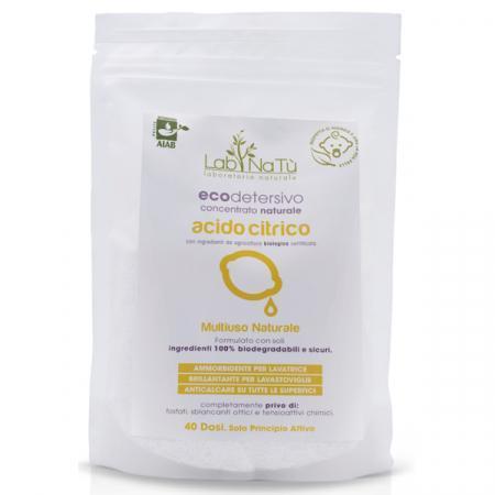 acido citrico purissimo e naturale