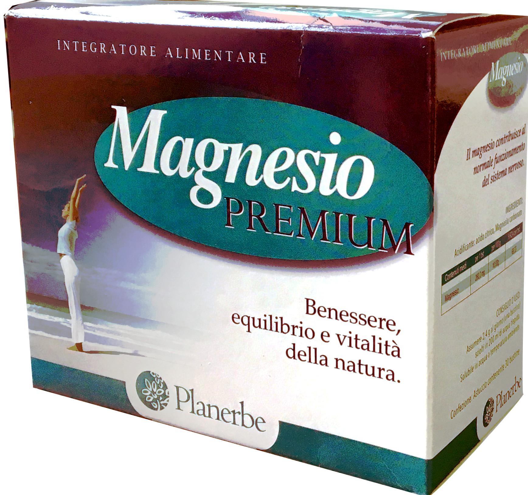 Magnesio Premium bustine Planerbe