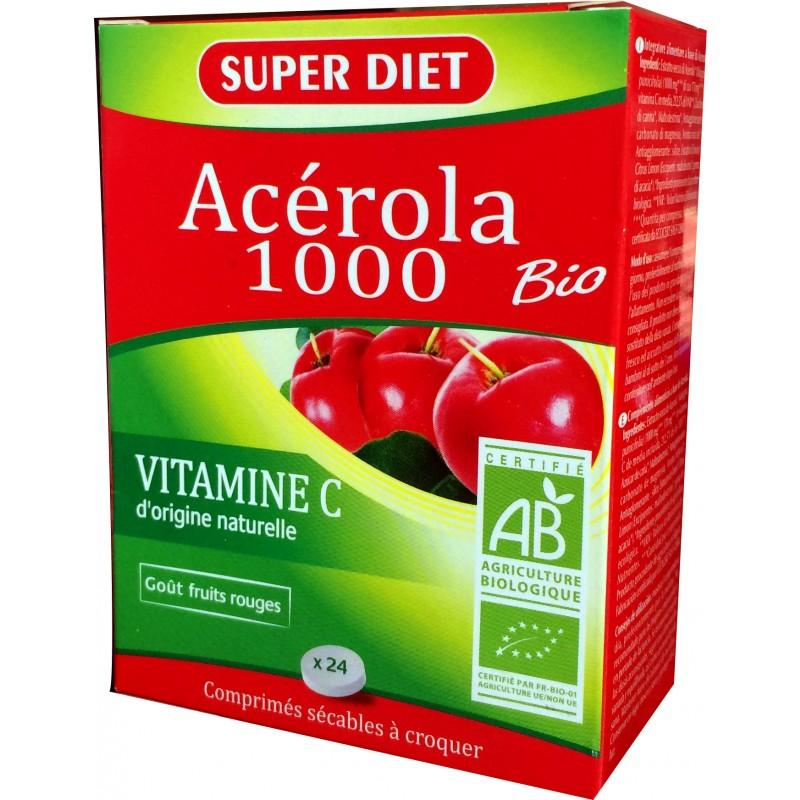 acerola biologica compresse
