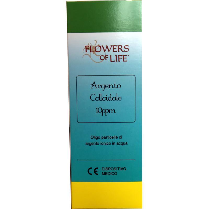 Argento Colloidale da 10 ppm - Flacone da 100 ml, con contagocce