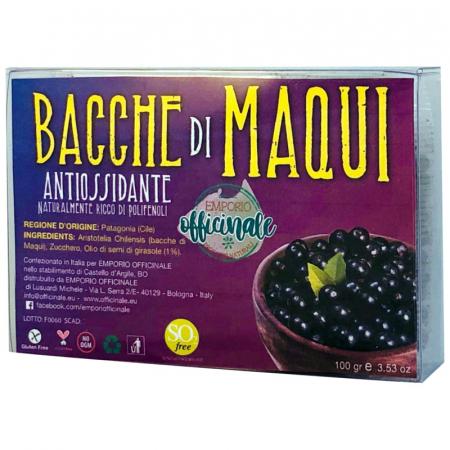 Bacche di Maqui antiossidanti