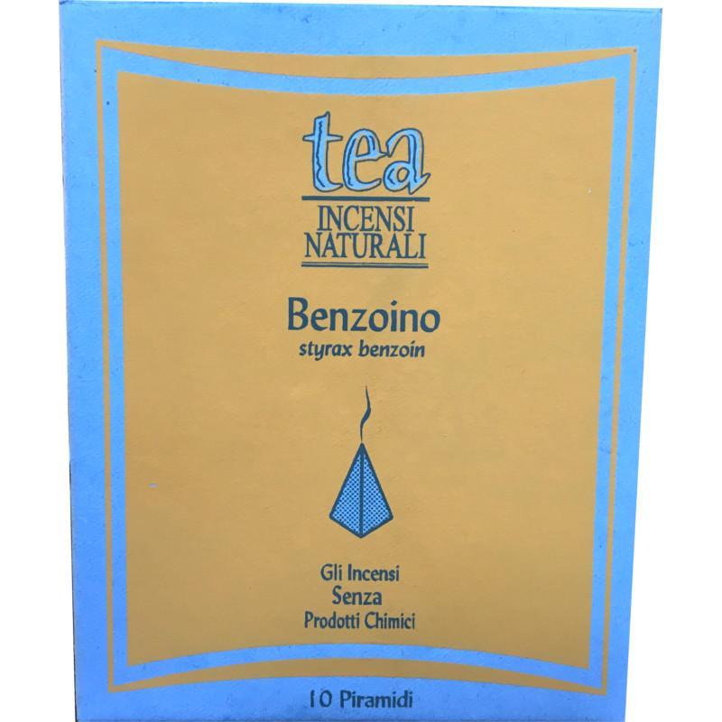 benzoino incenso piramide
