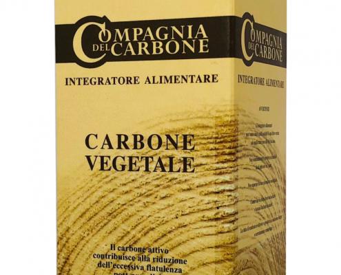 Carbone Vegetale in compresse contro la flatulenza ed il meteorismo