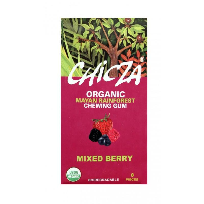 Chicza Aroma Frutti Rossi, chewing gum naturale ed ecologico