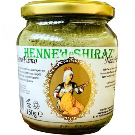 Henne nero fumo totalmente vegetale hennè de shiraz