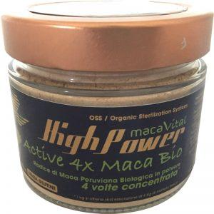 Maca Vital High Power naturale, farina di maca biologica e senza glutine