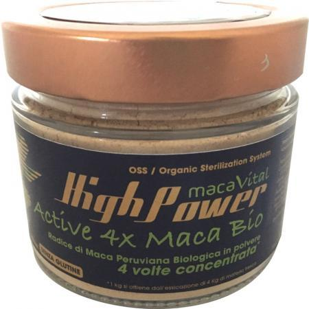 Maca Vital High Power naturale, farina di maca biologica e senza glutine