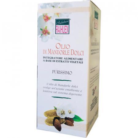 Olio di mandorle dolci purissimo di grado alimentare