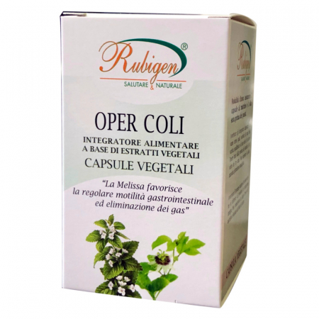 Oper Coli capsule vegetali per la colite e eliminazione dei gas