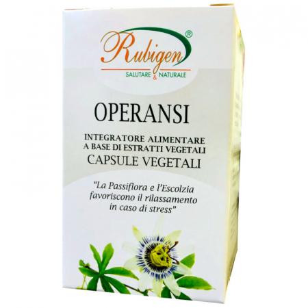 operansi capsule vegetali con Passiflora e Escolzia