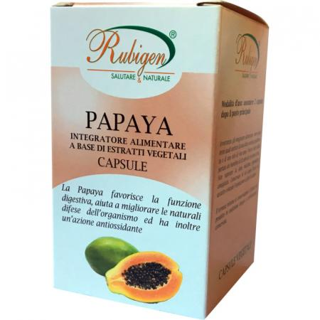 papaya in capsule integratore alimentare